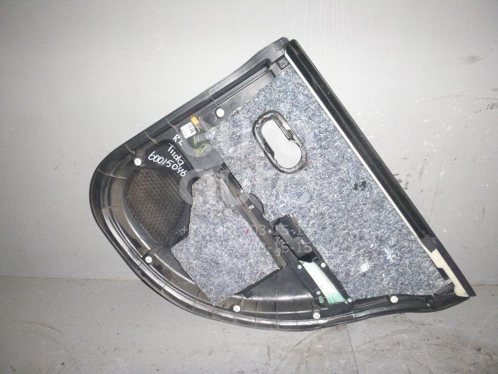 Обшивка двери задней левой для Nissan Tiida (C11) 2007-2014 - Фото №1