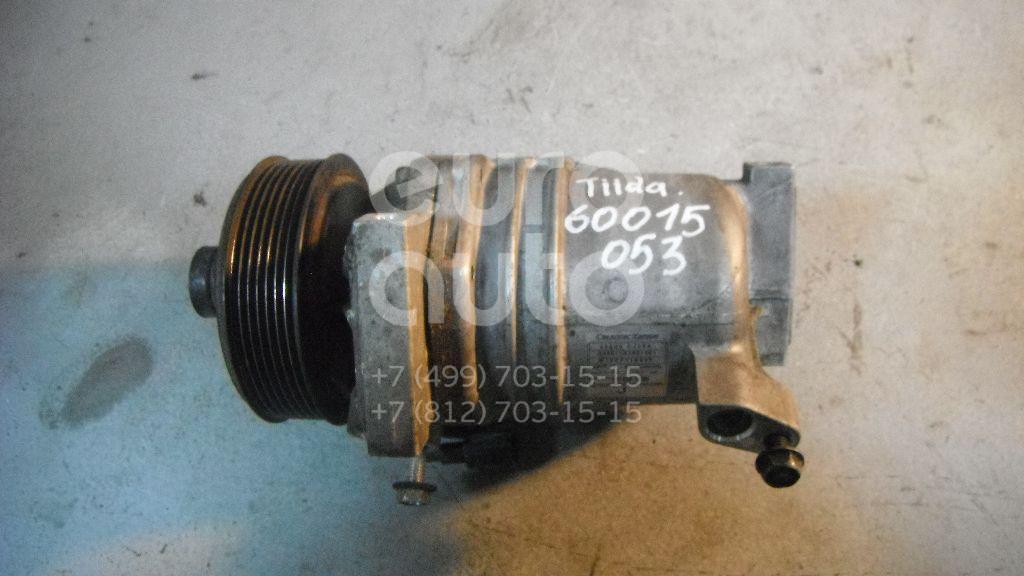 Компрессор системы кондиционирования для Nissan Tiida (C11) 2007-2014 - Фото №1