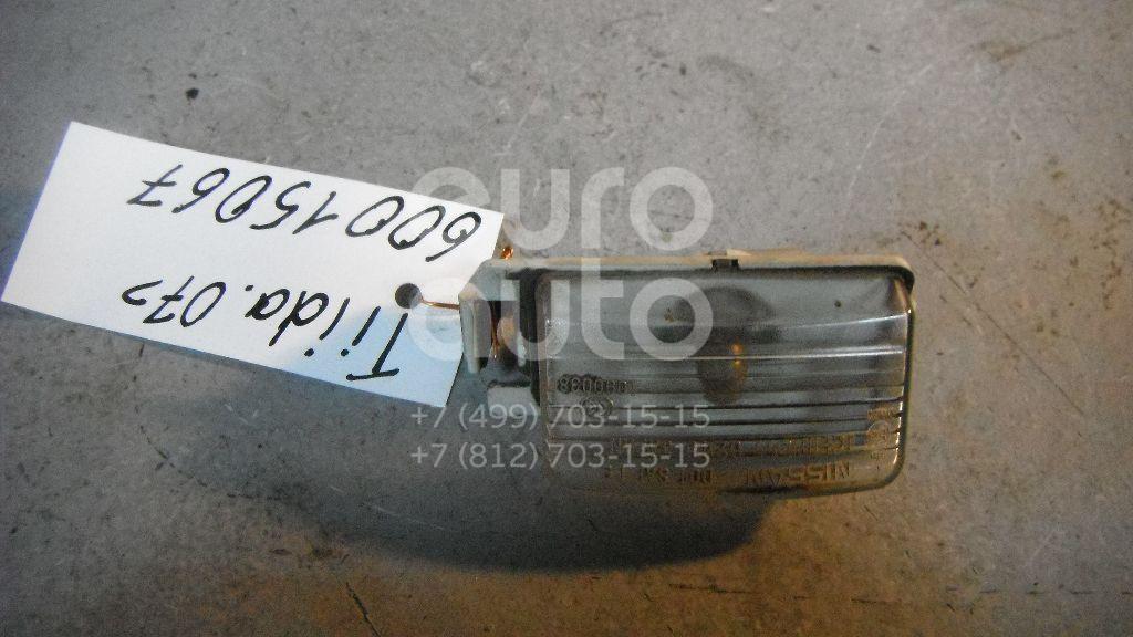 Фонарь подсветки номера для Nissan Tiida (C11) 2007>;G (V35) 2002-2007;G (V36) 2007-2013;350Z 2003> - Фото №1