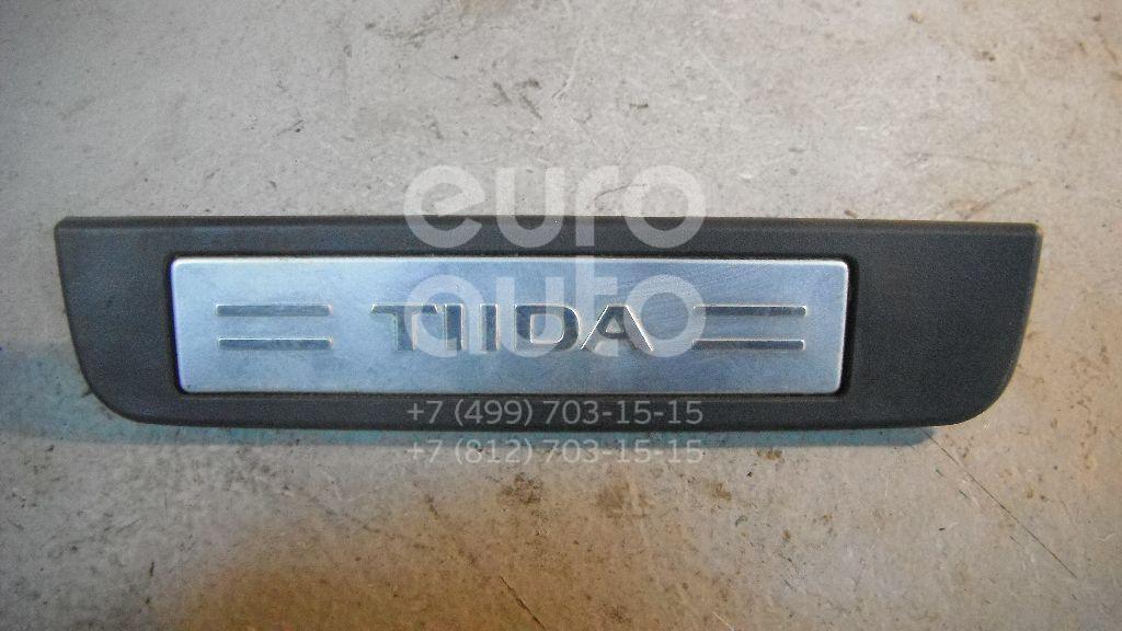 Накладка порога (внутренняя) для Nissan Tiida (C11) 2007> - Фото №1