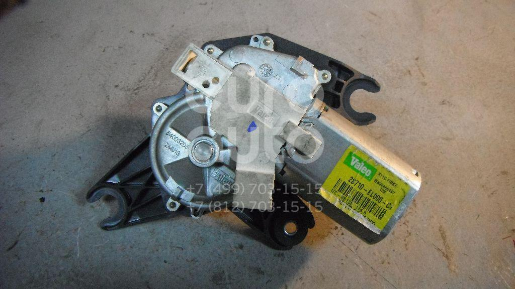 Моторчик стеклоочистителя задний для Nissan Tiida (C11) 2007-2014 - Фото №1