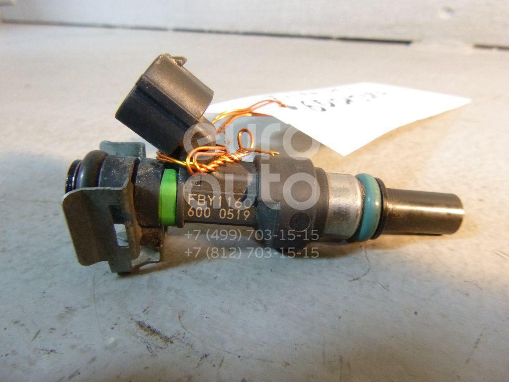 Форсунка инжекторная электрическая для Nissan Tiida (C11) 2007>;Note (E11) 2006-2013;Micra (K12E) 2002>;Qashqai (J10) 2006-2014;Qashqai+2 (JJ10) 2008-2014 - Фото №1