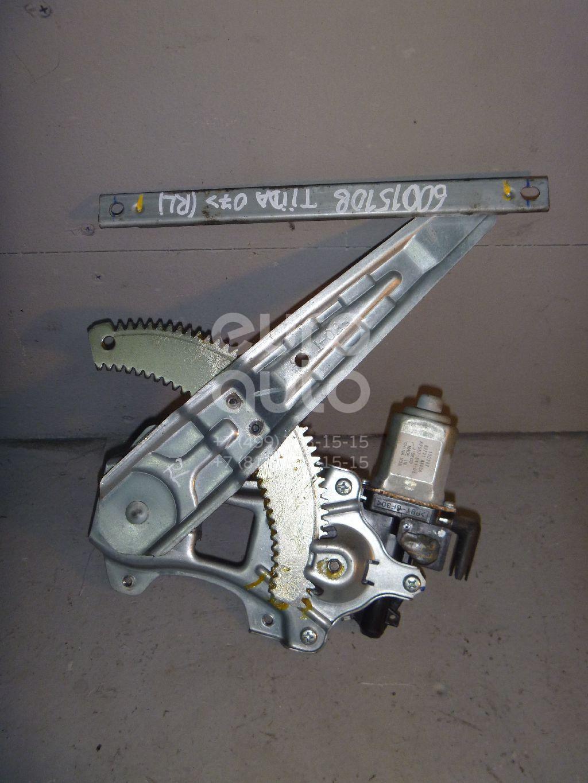 Стеклоподъемник электр. задний левый для Nissan Tiida (C11) 2007> - Фото №1