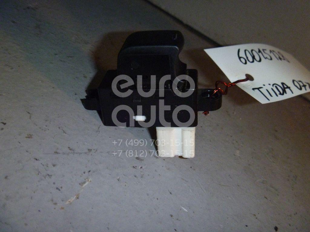 Кнопка стеклоподъемника для Nissan Tiida (C11) 2007-2014;Murano (Z50) 2004-2008;Micra (K12E) 2002-2010;CabStar 2008-2011 - Фото №1
