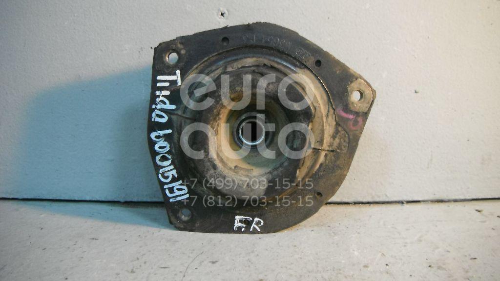 Опора переднего амортизатора правая для Nissan Tiida (C11) 2007-2014;Note (E11) 2006-2013;Micra (K12E) 2002-2010 - Фото №1