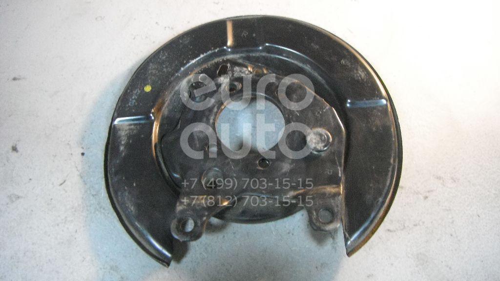 Щит опорный задний правый для Nissan Tiida (C11) 2007> - Фото №1