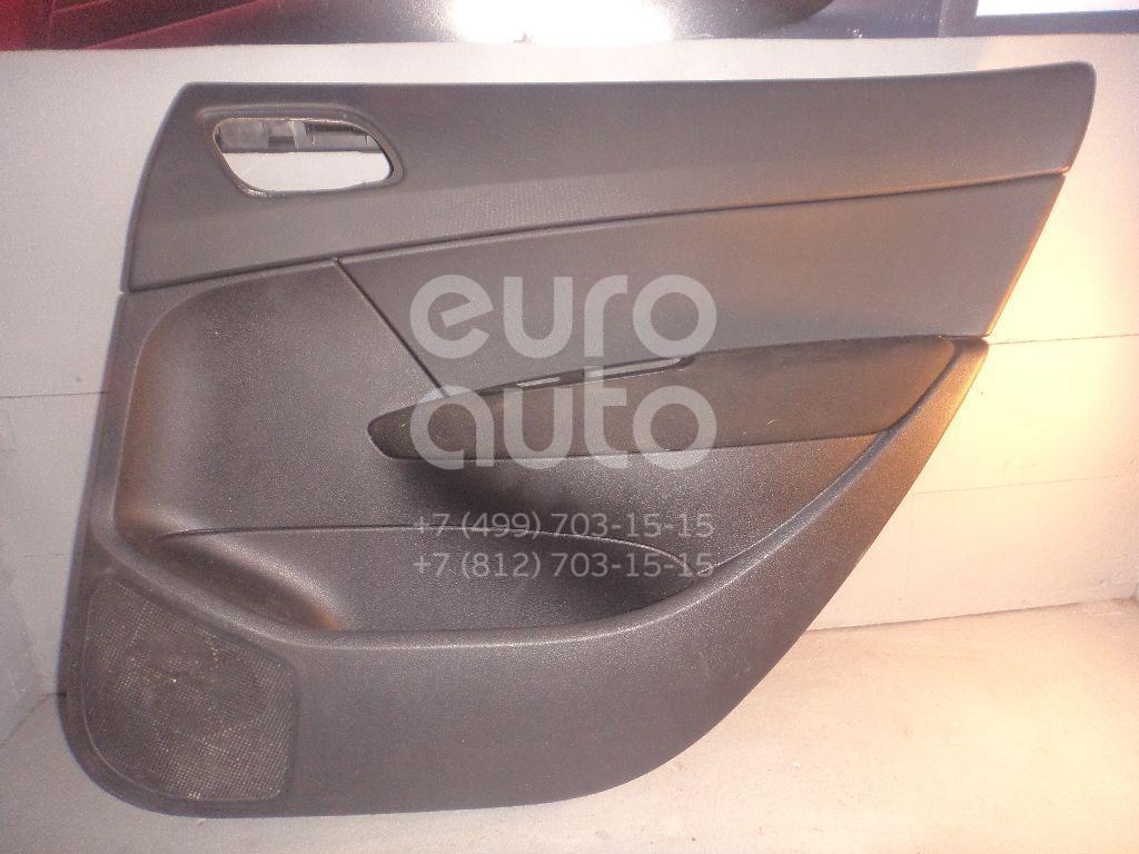 Обшивка двери задней правой для Peugeot 308 I 2007-2015 - Фото №1