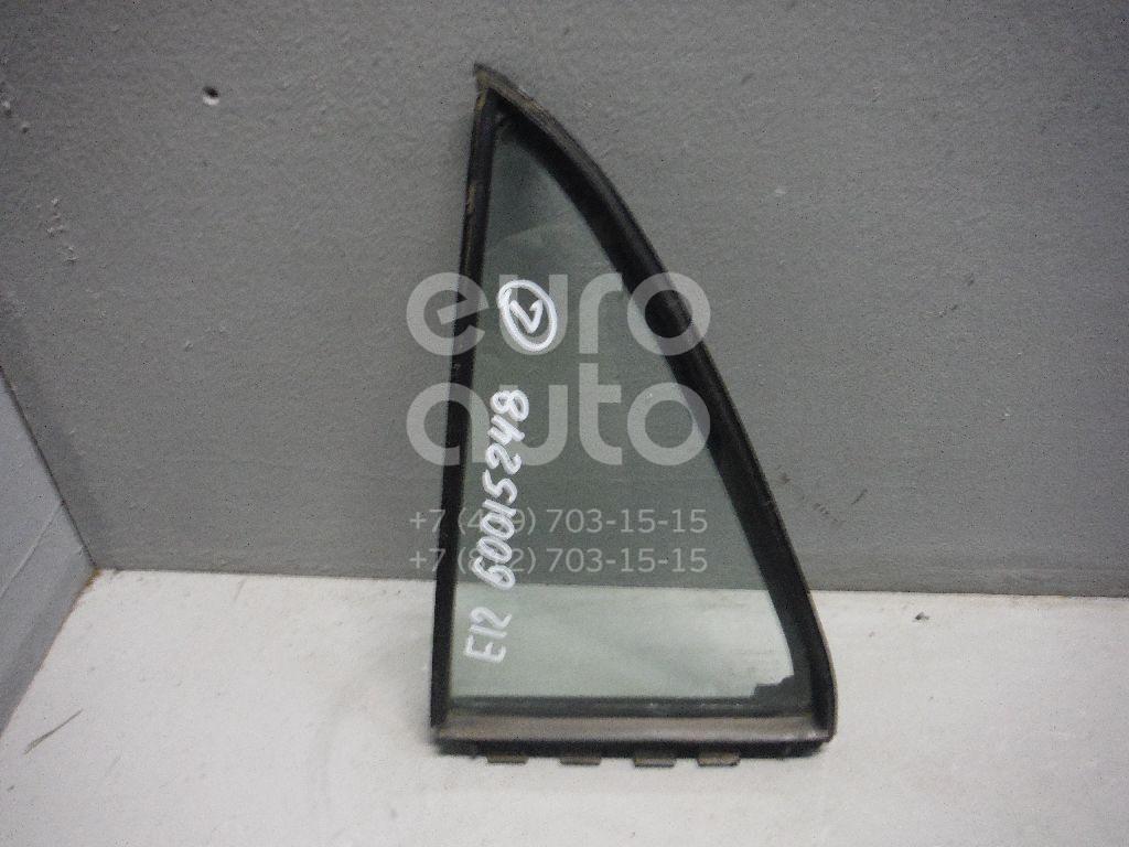 Стекло двери задней левой (форточка) для Toyota Corolla E12 2001-2006 - Фото №1