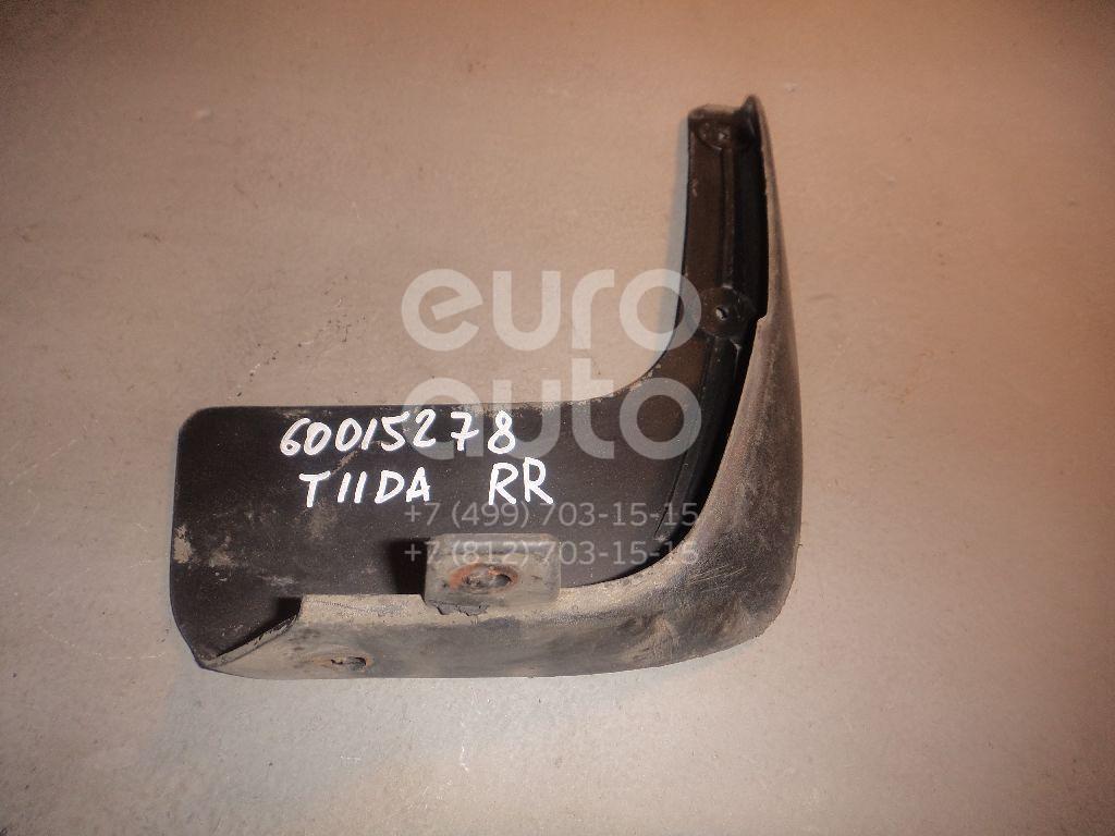 Брызговик задний правый для Nissan Tiida (C11) 2007> - Фото №1