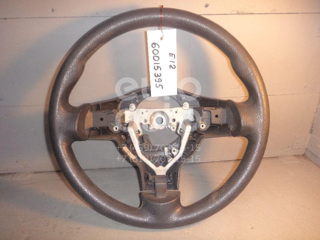 Рулевое колесо для AIR BAG (без AIR BAG) для Toyota Corolla E12 2001-2006 - Фото №1