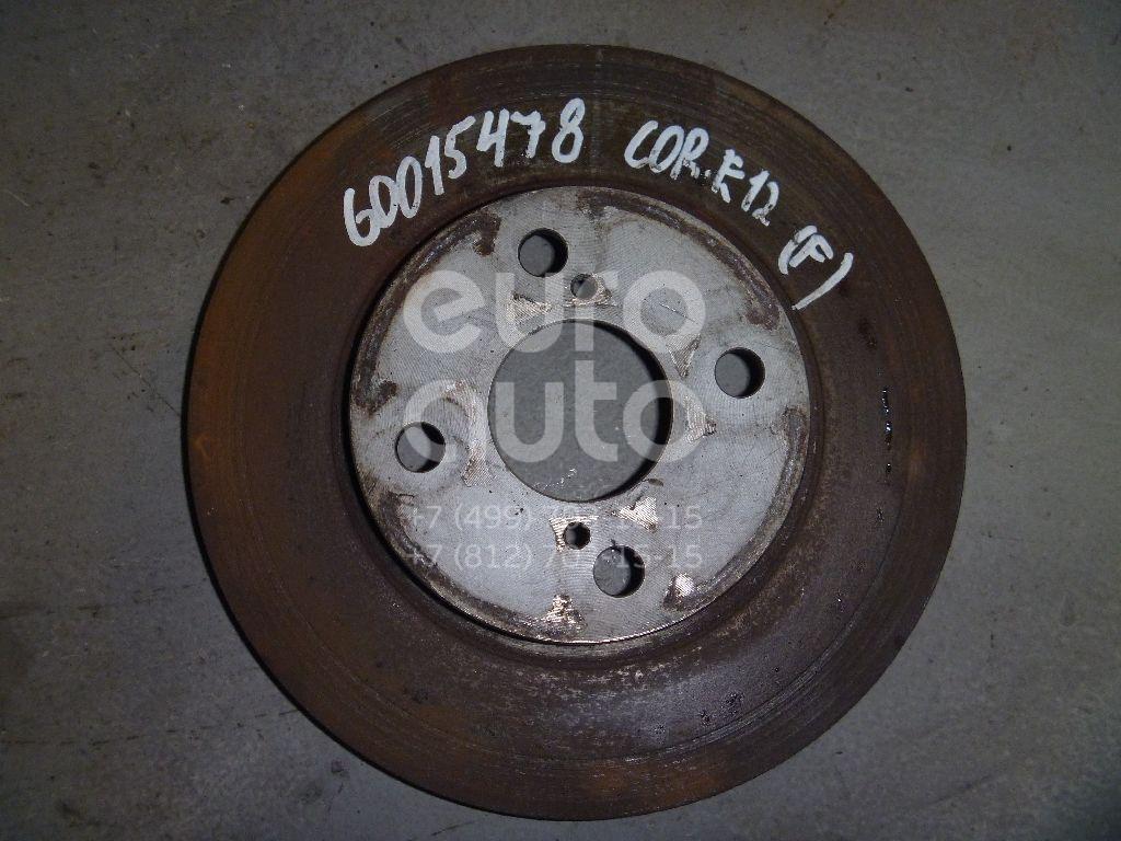 Диск тормозной передний вентилируемый для Toyota Corolla E12 2001-2006;Prius 2003-2009 - Фото №1
