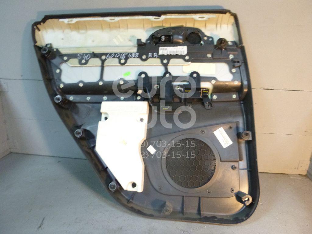 Обшивка двери задней правой для Volvo S40 2004-2012 - Фото №1