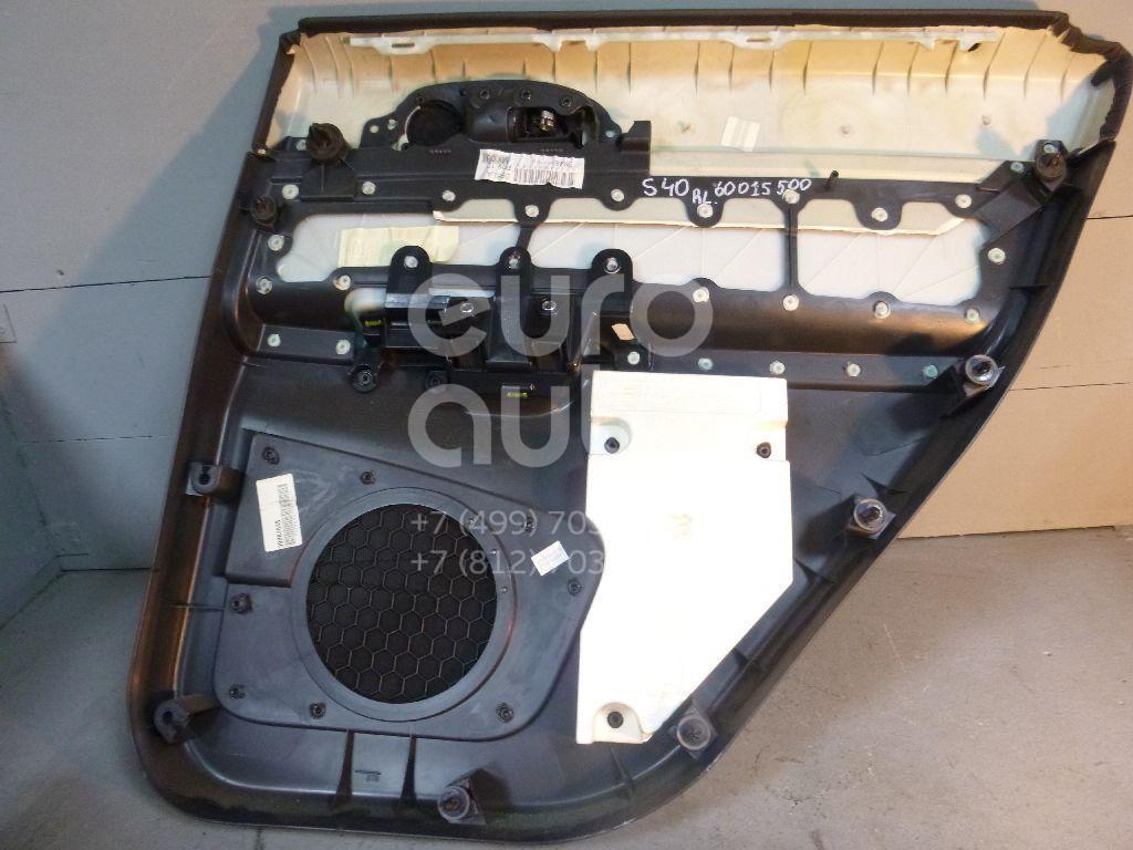 Обшивка двери задней левой для Volvo S40 2004-2012 - Фото №1