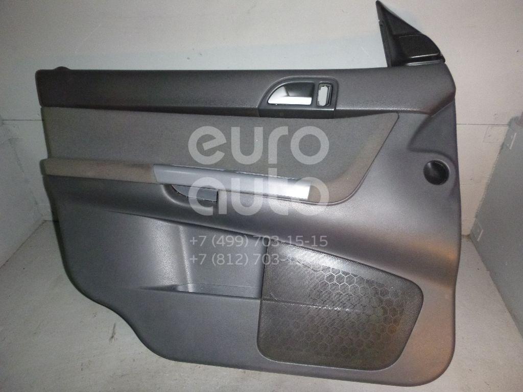 Обшивка двери передней левой для Volvo S40 2004-2012 - Фото №1
