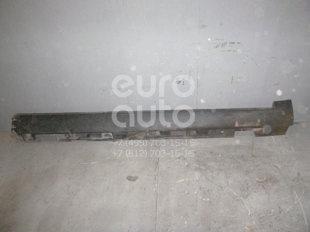 Накладка на порог (наружная) для Volvo S40 2004-2012;V50 2004-2012 - Фото №1