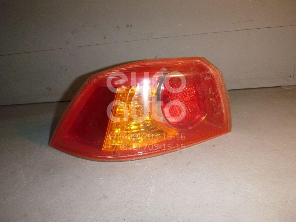 Фонарь задний наружный левый для Mitsubishi Lancer (CX,CY) 2007> - Фото №1