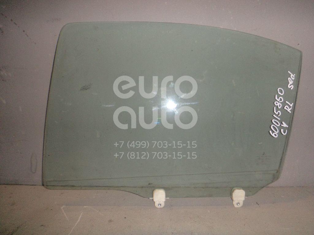 Стекло двери задней левой для Mitsubishi Lancer (CX,CY) 2007> - Фото №1