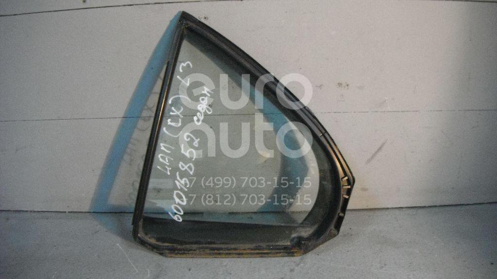 Стекло двери задней левой (форточка) для Mitsubishi Lancer (CX,CY) 2007> - Фото №1