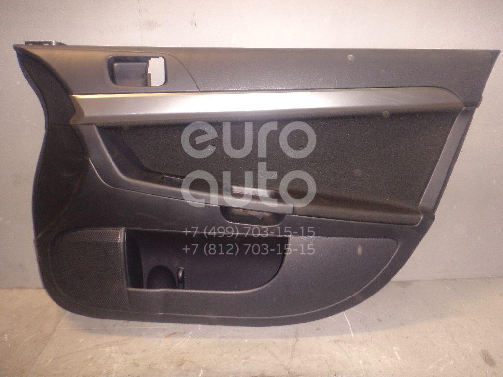 Обшивка двери передней правой для Mitsubishi Lancer (CX,CY) 2007> - Фото №1