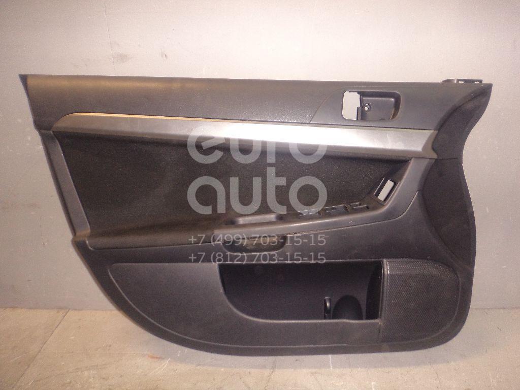 Обшивка двери передней левой для Mitsubishi Lancer (CX,CY) 2007> - Фото №1