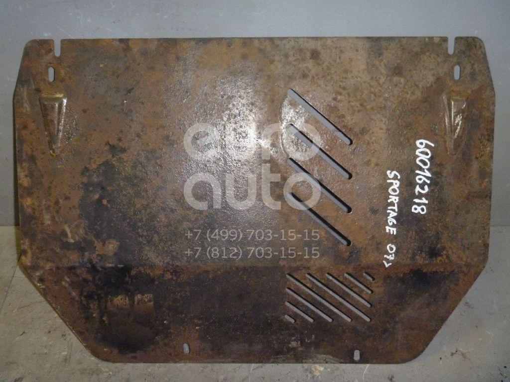 Защита картера для Kia Sportage 2004-2010 - Фото №1