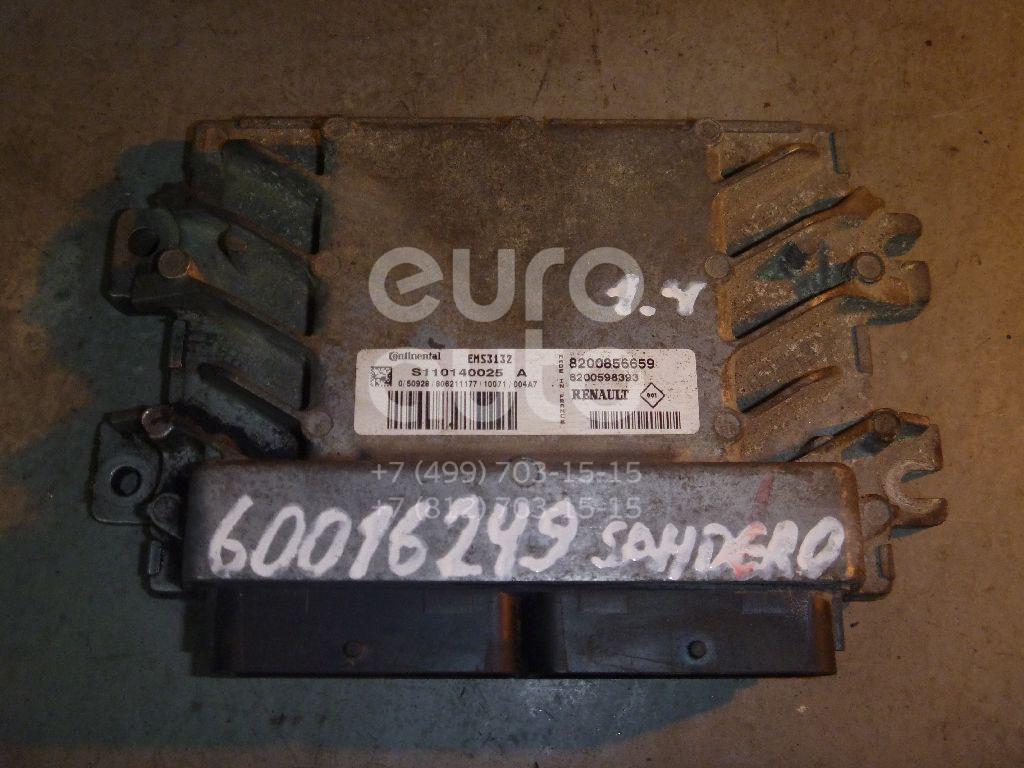 Блок управления двигателем для Renault Sandero 2009-2014 - Фото №1