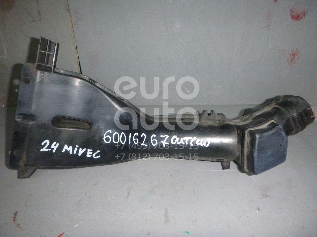 Воздухозаборник (внутри) для Mitsubishi Outlander (CU) 2003-2009 - Фото №1