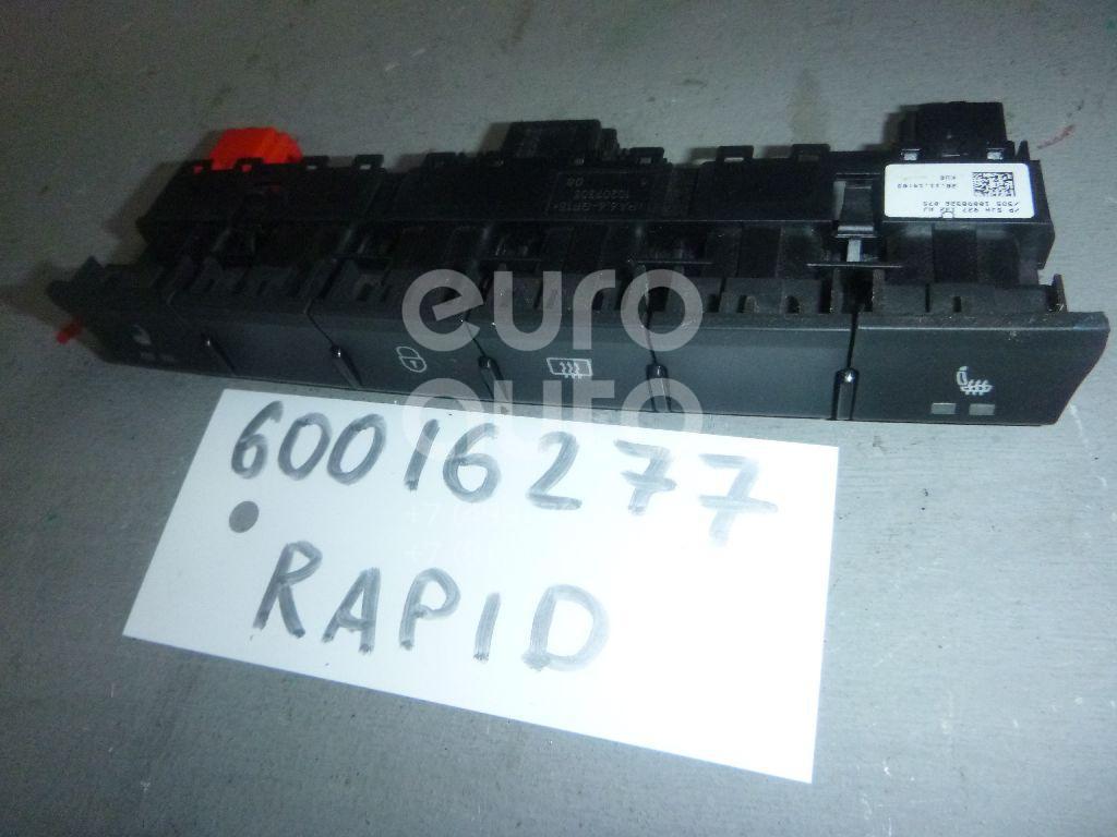Блок кнопок для Skoda Rapid 2013> - Фото №1