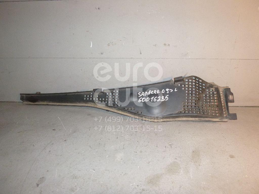 Решетка стеклооч. (планка под лобовое стекло) для Renault Sandero 2009-2014;Logan 2005-2014;Duster 2012> - Фото №1
