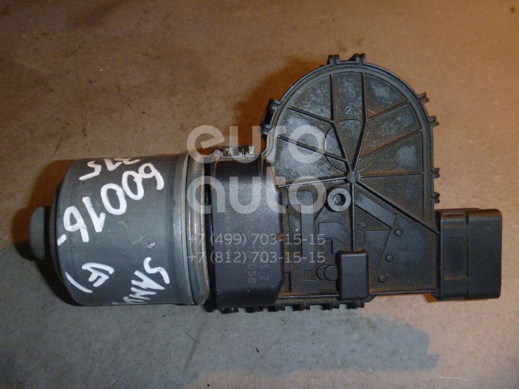 Моторчик стеклоочистителя передний для Renault Sandero 2009-2014;Logan 2005-2014;Duster 2012> - Фото №1