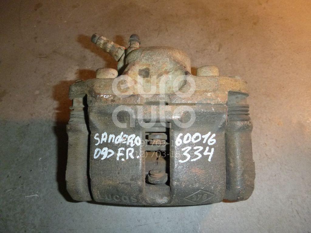 Суппорт передний правый для Renault Sandero 2009-2014;Clio 1991-1998;R21 1986-1994;Logan 2005-2014;Clio/Symbol 1998-2008 - Фото №1