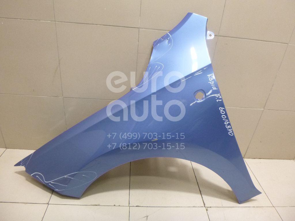 Крыло переднее левое для Seat Rapid 2013>;Toledo 2013> - Фото №1