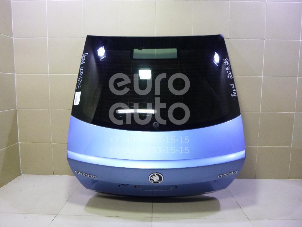 Дверь багажника со стеклом для Skoda Rapid 2013> - Фото №1