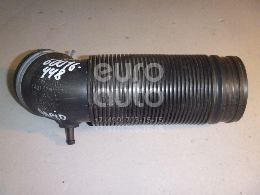 Патрубок воздушного фильтра для Skoda,Audi,Seat Rapid 2013>;A1 2010>;Toledo 2013> - Фото №1
