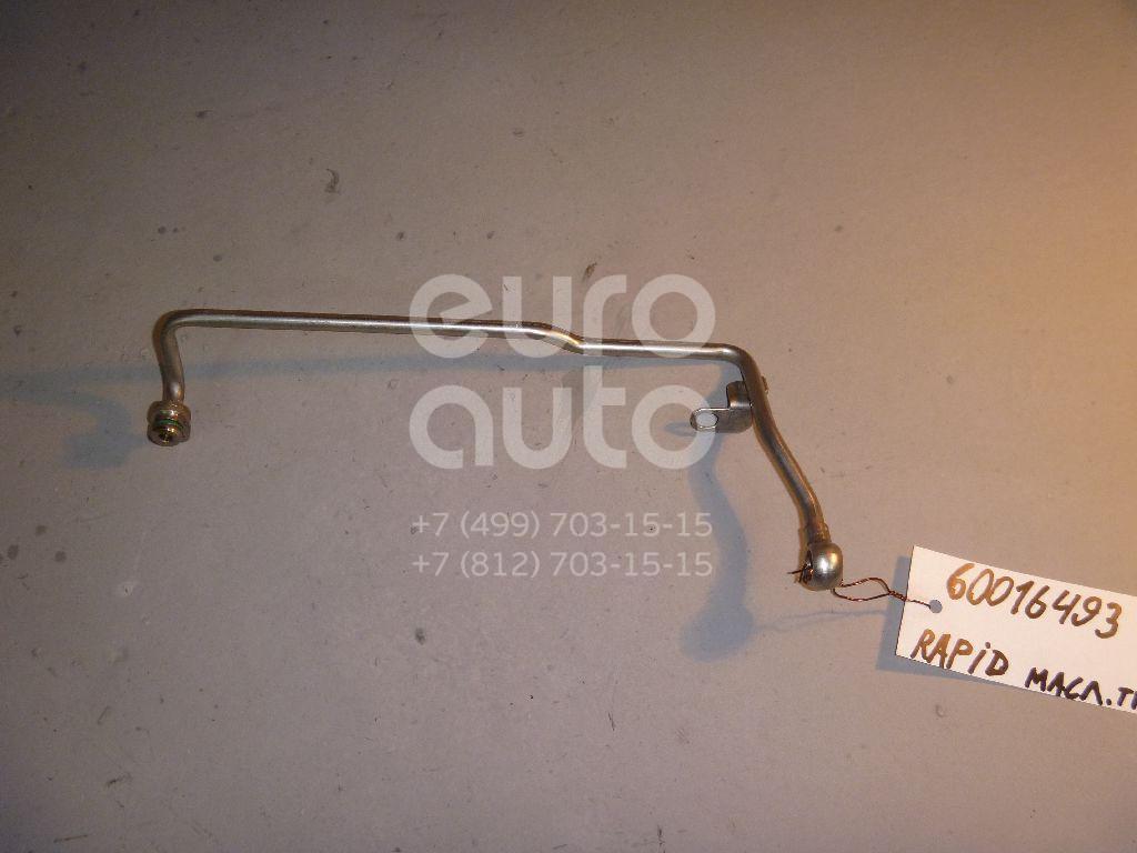 Трубка масляная для Skoda Rapid 2013>;Tiguan 2011> - Фото №1