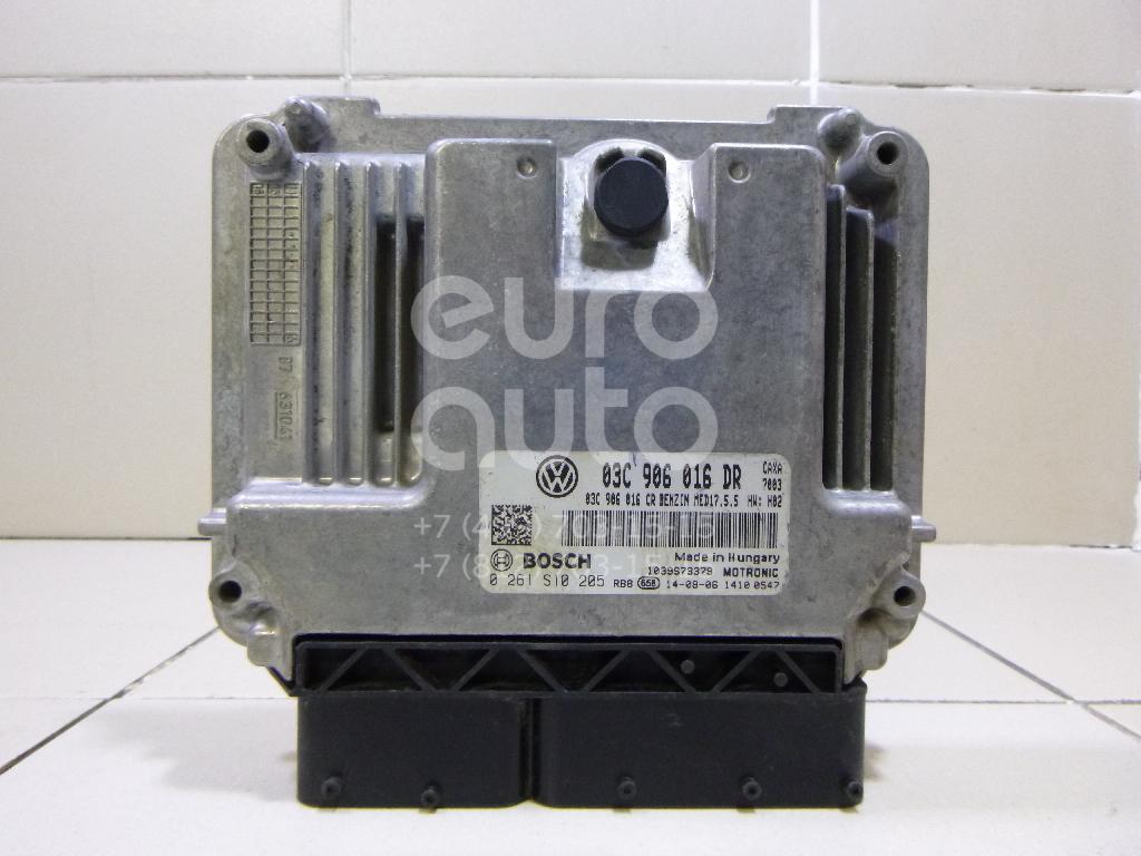 Блок управления двигателем для Skoda Rapid 2013> - Фото №1
