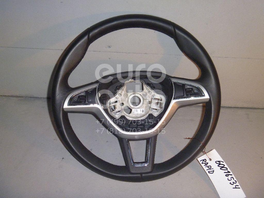 Рулевое колесо для AIR BAG (без AIR BAG) для Skoda Rapid 2013> - Фото №1