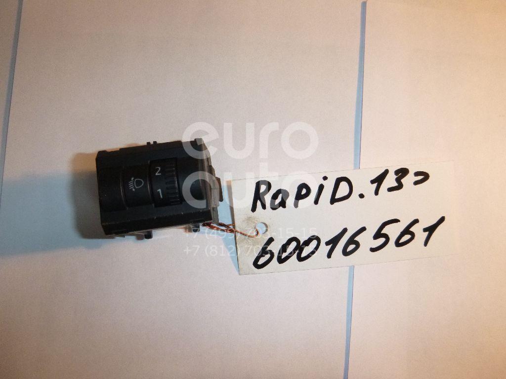 Кнопка корректора фар для Skoda Rapid 2013> - Фото №1
