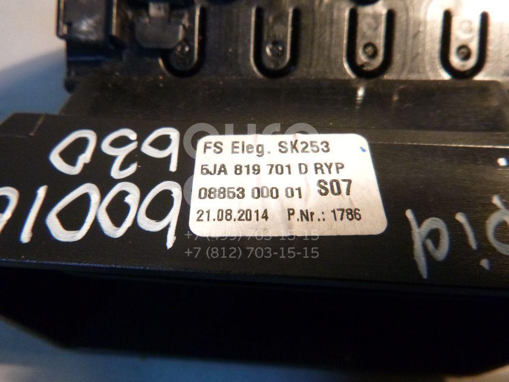 Дефлектор воздушный для Skoda,Seat Rapid 2013>;Toledo IV 2013> - Фото №1