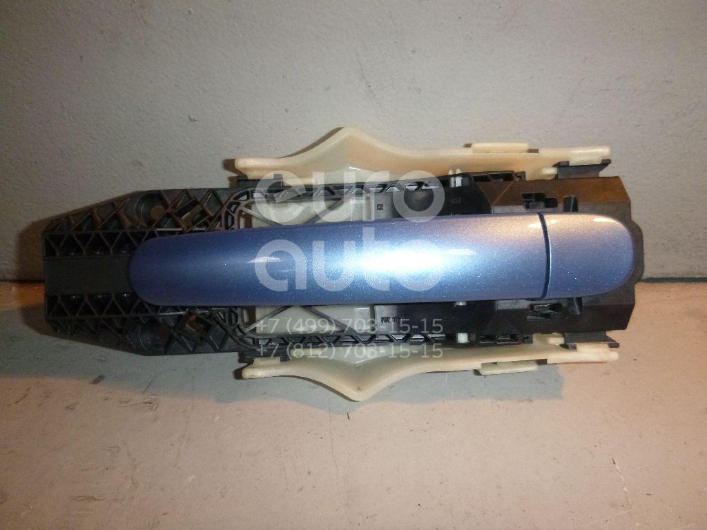 Ручка двери задней наружная левая для Skoda Rapid 2013> - Фото №1