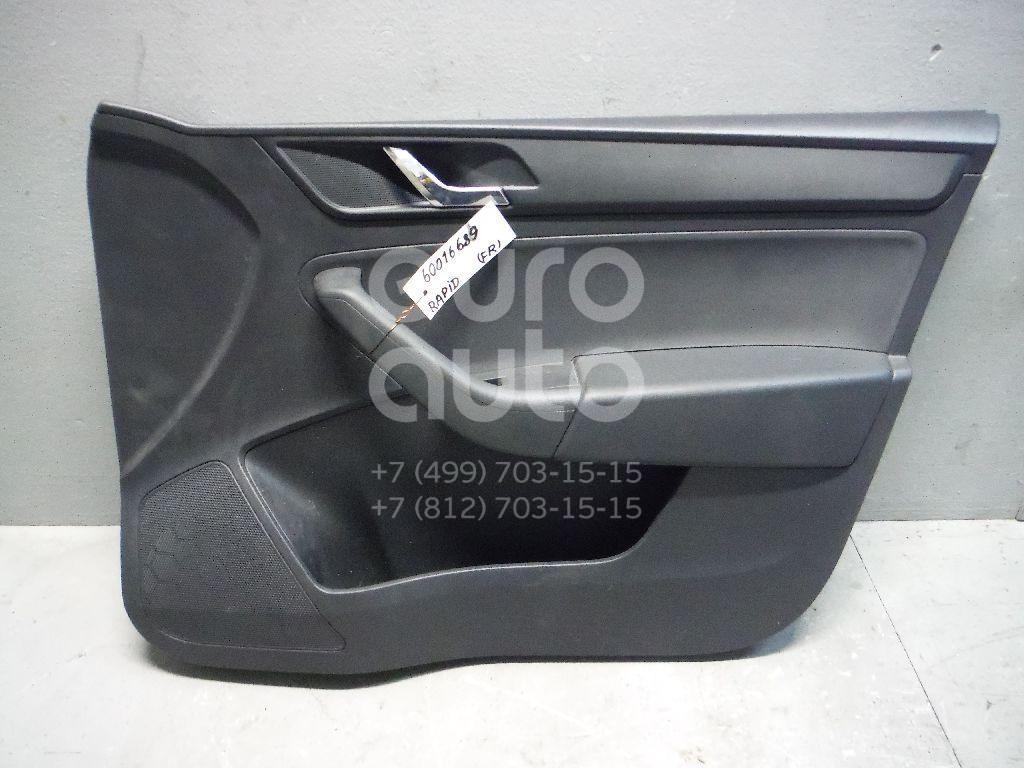 Обшивка двери передней правой для Skoda Rapid 2013> - Фото №1