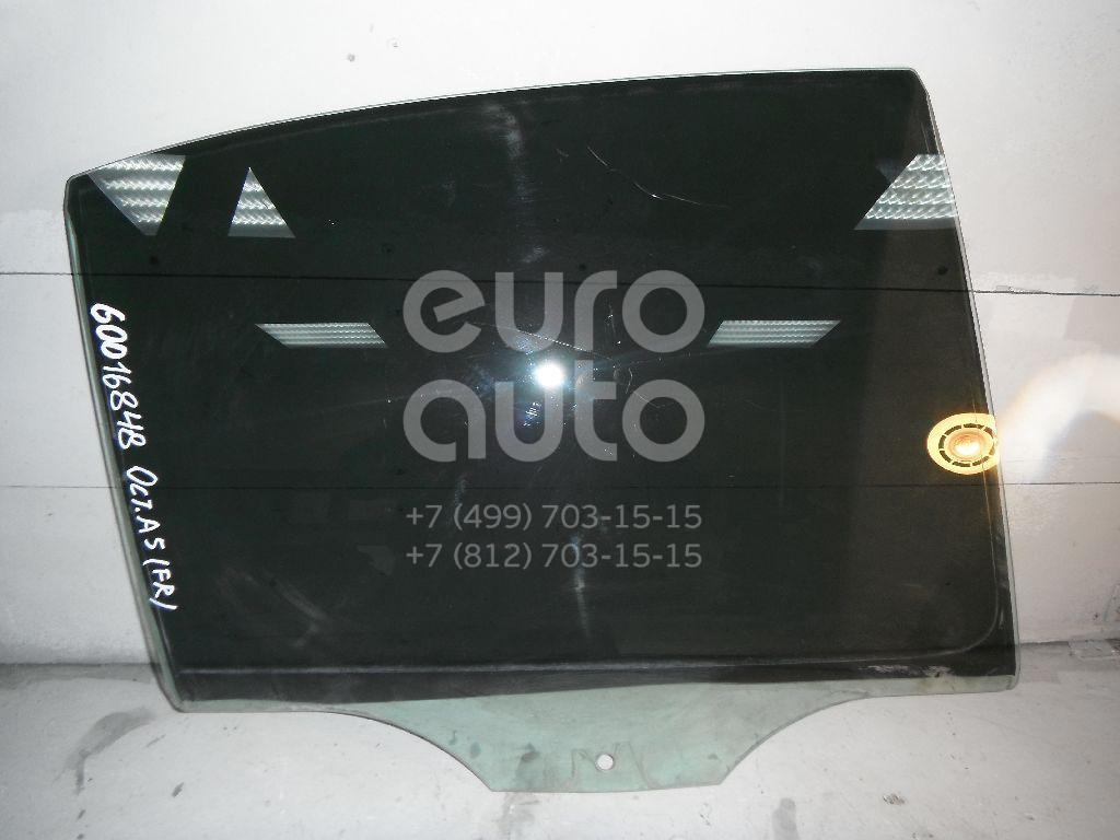 Стекло двери задней правой для Skoda Octavia (A5 1Z-) 2004-2013 - Фото №1