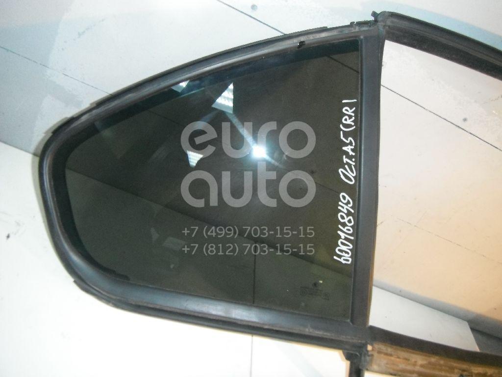 Стекло двери задней правой (форточка) для Skoda Octavia (A5 1Z-) 2004-2013 - Фото №1