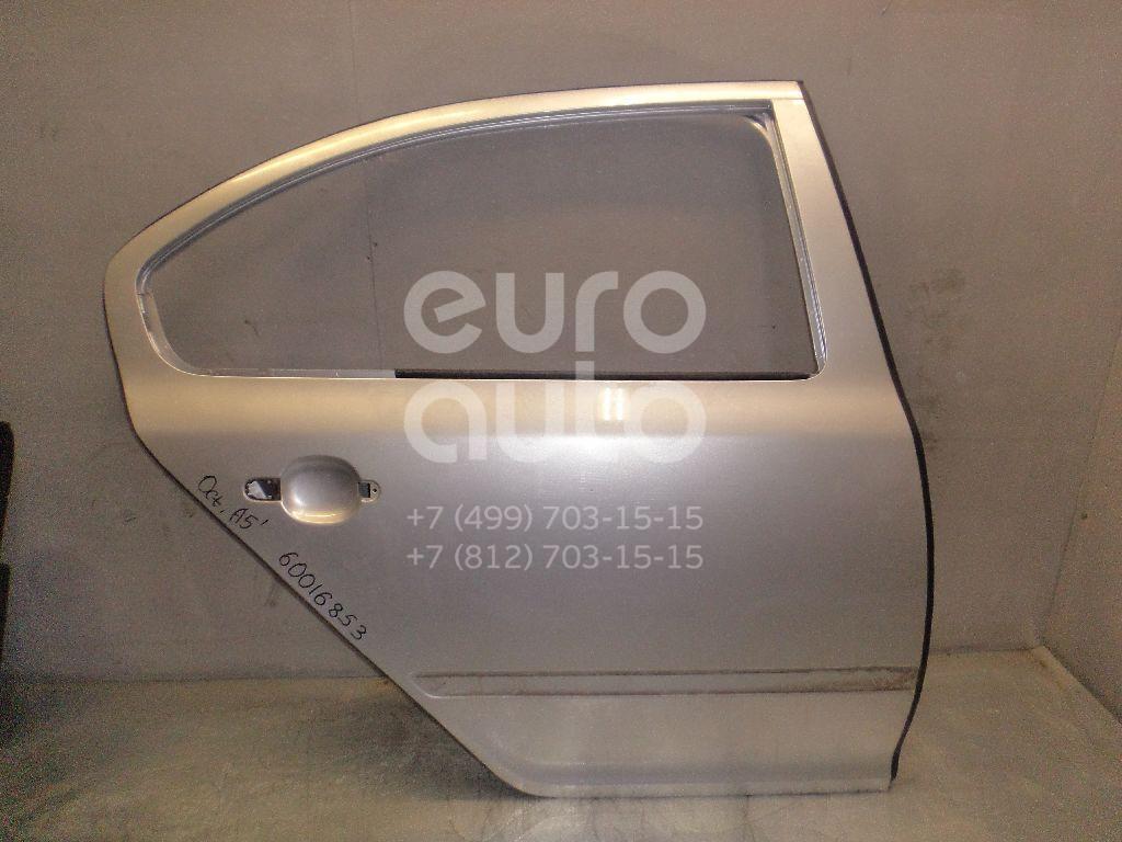 Дверь задняя правая для Skoda Octavia (A5 1Z-) 2004-2013 - Фото №1