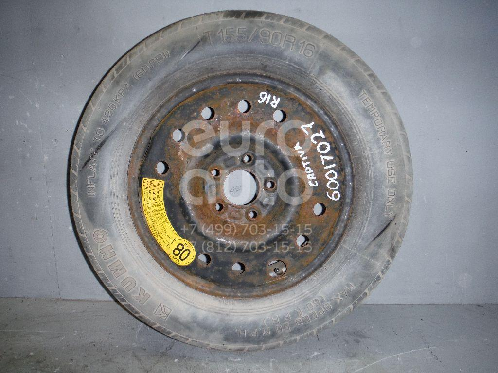 Диск запасного колеса (докатка) для Chevrolet Captiva (C100) 2006-2010 - Фото №1