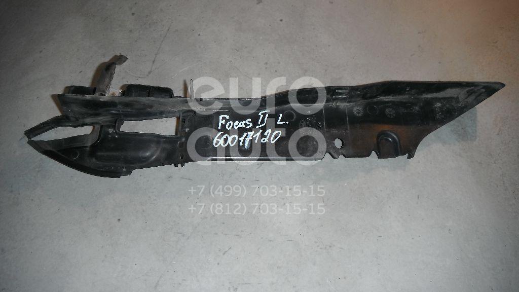 Накладка переднего крыла левого для Ford Focus II 2008-2011 - Фото №1