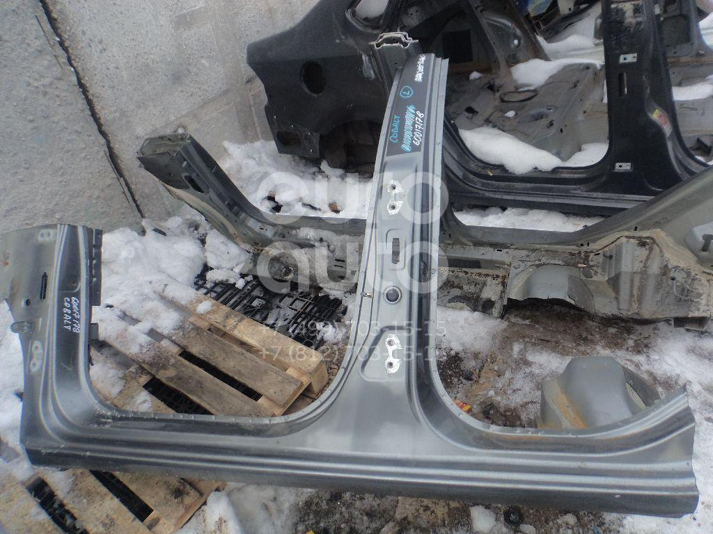 Порог со стойкой левый для Chevrolet Cobalt 2012> - Фото №1