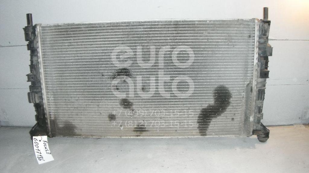 Радиатор основной для Ford,Volvo,Mazda Focus II 2008-2011;Focus II 2005-2008;XC70 Cross Country 2000-2006;C-MAX 2003-2010;S80 1998-2006;S60 2000-2009;Mazda 3 (BK) 2002-2009;S40 2004-2012;V50 2004-2012;S80 2006-2016;XC60 2008> - Фото №1