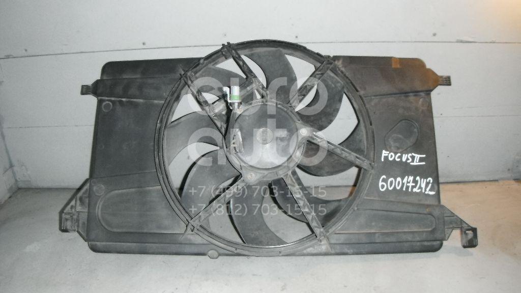 Вентилятор радиатора для Ford Focus II 2008-2011;Focus II 2005-2008;C-MAX 2003-2011;Mazda 3 (BK) 2002-2009 - Фото №1