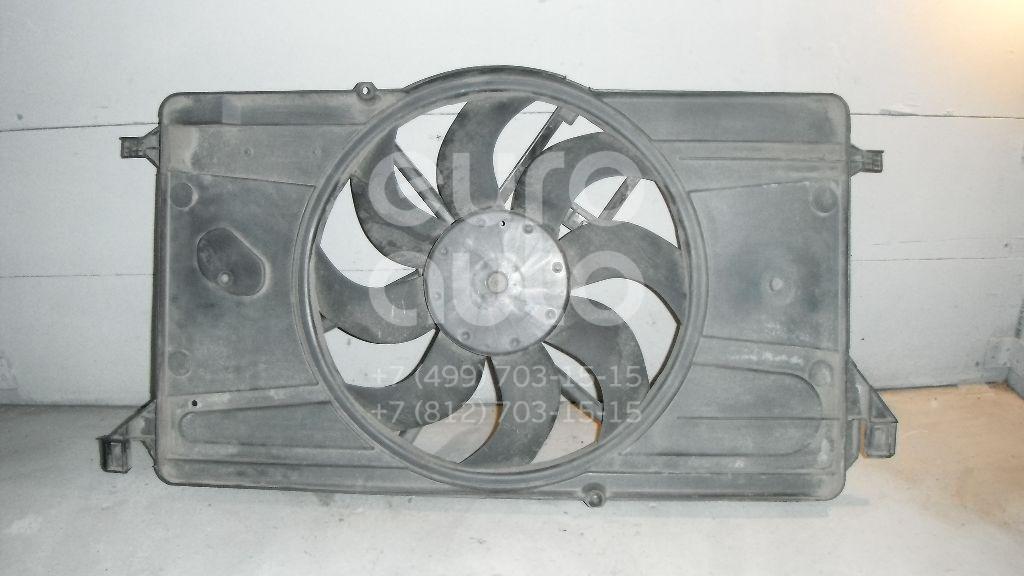 Вентилятор радиатора для Ford Focus II 2008-2011;Focus II 2005-2008;C-MAX 2003-2010 - Фото №1